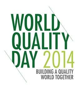World Quality Day 2014 logo