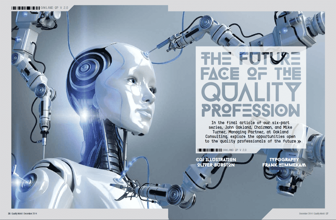 6. The future face of the quality profession