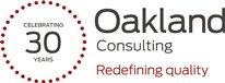 Oakland 30th Anniversary logo