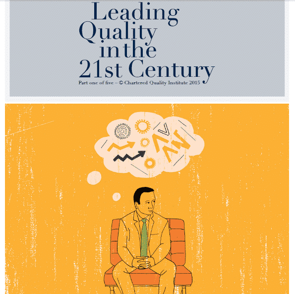 Leading Quality in the 21st Century - CQI publication