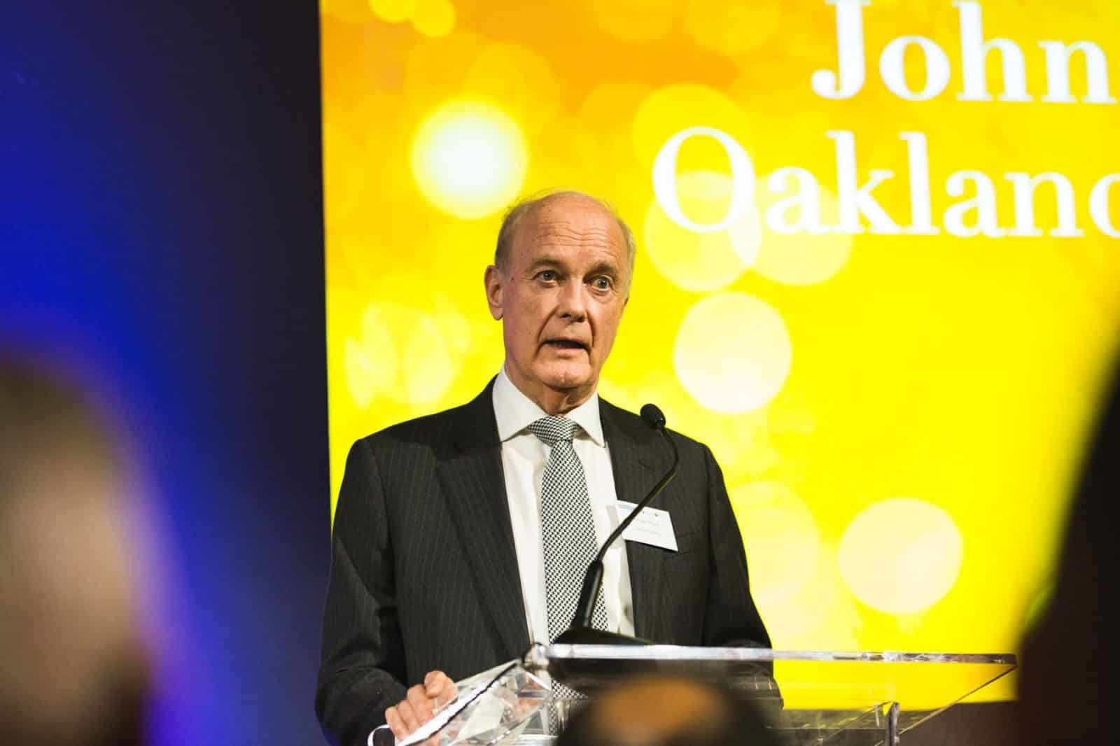 John Oakland receives award from CQI