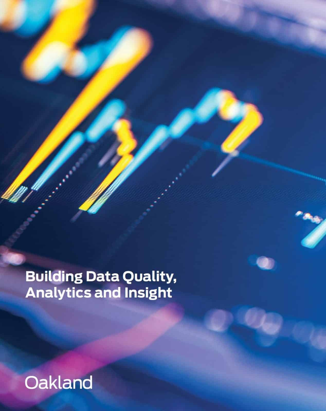 What does advanced data analytics mean for the quality profession?